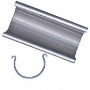 "Grip Clamp Fittings, 3""L, 1""Dia., Aluminum - Pkg Qty 25"