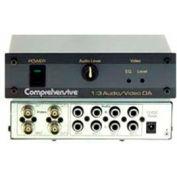 Comprehensive Composite/S-Video Splitters, 1X3 Audio & Video DA With BNC's