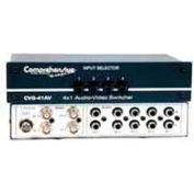Comprehensive Switcher, 4X1 Composite Video And Audio Passive