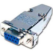 Comprehensive D-Sub Connector, 9 Pin Jack With Hood