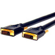 Comprehensive HR Pro Plenum DVI Cable, DVI To DVI, 24 AWG, Cl2P Cable, 40'