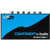 Comprehensive Component Video Extender, Video Receiver Over CAT5 With Audio, Up To 1000'