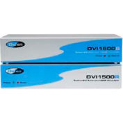 Comprehensive DVI Extender, Fiber Optics LC-LC And CAT5E, Up To 1640', 330'L Cable