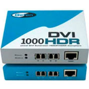 Comprehensive DVI Extender, 4 Strand LC-LC Cable And EXT-DVI-1500HD, Up To 1640', 300'L Cable
