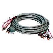 Comprehensive VGA Cable, HR Pro Series, VGA W/Audio HD 15 Pin Plug To Plug Cable, 3'