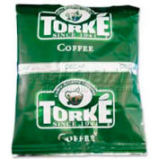 Torke Classic World Wide Fine Grind Coffee, Decaffeinated, 1.5 oz. 42/Carton