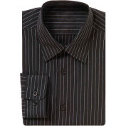 Chef Works® Onyx Dress Shirt, Charcoal Dash, L - D300CDAL