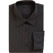 Chef Works® Onyx Women's Dress Shirt, Charcoal Dash, XS - W300CDAXS