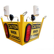 Collision Awareness Large Look Out Sensor, Ceiling Hung, 1 Box, 2 Sensors, 2 Lights, 50' Cord