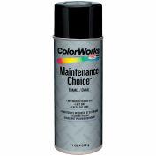 Krylon Industrial Colorworks Enamel Gloss Black - CWBK01007 - Pkg Qty 6