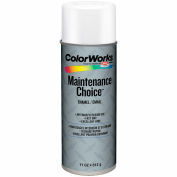 Krylon Industrial Colorworks Enamel Gloss White - CWBK00102 - Pkg Qty 6