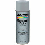 Krylon Industrial Colorworks Enamel Light Machinery Gray - CWBK01047 - Pkg Qty 6