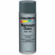 Krylon Industrial Colorworks Enamel Dark Machinery Gray - CWBK00105 - Pkg Qty 6