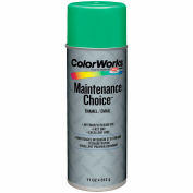 Krylon Industrial Colorworks Enamel Safety Green - CWBK01117 - Pkg Qty 6