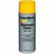 Krylon Industrial Colorworks Enamel Safety Yellow - CWBK01187 - Pkg Qty 6