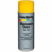 Krylon Industrial Colorworks Enamel Safety Yellow - CWBK00118 - Pkg Qty 6