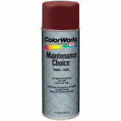 Krylon Industrial Colorworks Enamel Walnut Brown - CWBK00121 - Pkg Qty 6