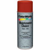 Krylon Industrial Colorworks Enamel Red Oxide Primer - CWBK00125 - Pkg Qty 6