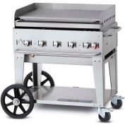 "Crown Verity Mobile Outdoor Griddle 36"" LP - MG-36"