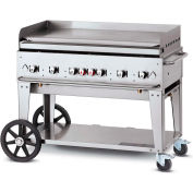 "Crown Verity Mobile Outdoor Griddle 48"" LP - MG-48"