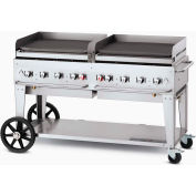 "Crown Verity Mobile Outdoor Griddle 60"" LP - MG-60"