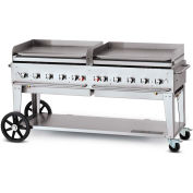 "Crown Verity Mobile Outdoor Griddle 72"" LP - MG-72"