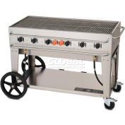 """Crown Verity Rental Mobile Grill 48"""" LP - Single Inlet - RCB-48-SI"""