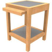 Cayuga TB-FP-100-FL-A - Small Pedestal Table