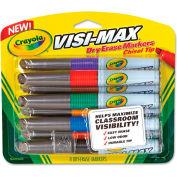 Crayola® Dry Erase Marker, Chisel Tip, Assorted Colors, 8/Set