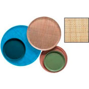 """Cambro 1000204 - Camtray 10"""" Round,  Rattan - Pkg Qty 12"""