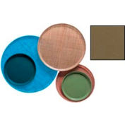 """Cambro 1200513 - Camtray 12"""" Round,  Bayleaf Brown - Pkg Qty 12"""