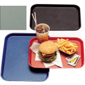 "Cambro 1216FF107 - Tray, Fast Food, Pearl Gray, 12"" x 16"" - Pkg Qty 24"