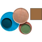 """Cambro 1400508 - Camtray 14"""" Round,  Suede Brown - Pkg Qty 12"""