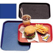 "Cambro 1418FF186 - Tray Fast Food 14"" x 18"",  Navy  Blue - Pkg Qty 12"