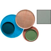 """Cambro 900107 - Camtray 9"""" Round,  Pearl Gray - Pkg Qty 12"""
