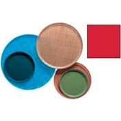 "Cambro 900510 - Camtray 9"" Round,  Signal Red - Pkg Qty 12"