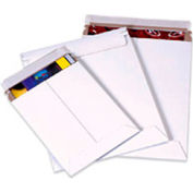 """Self-Seal Stayflat Mailer, 7""""W x 9""""L, White, 100 Pack"""