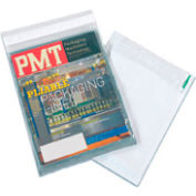 """Clear View Self-Seal Poly Mailer, 10""""W x 13""""L, Clear, 500 Pack"""