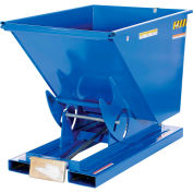 Vestil 1 Cu. Yd. Self-Dumping Steel Hopper with Bump Release D-100-LD 2000 Lb.
