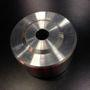"Darnell-Rose Caster Wheel 500108 Stainless Steel 6"" Dia. 1000 Lb. Cap."
