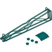 "Nexel® Poly-Green® 24"" Double Arm Fixed Wall Bracket"