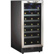 Danby DWC1534BLS 34 Bottle, Built-In Wine Cooler
