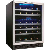 Danby DWC518BLS 51 Bottle, Built-In or Freestanding Wine Cooler