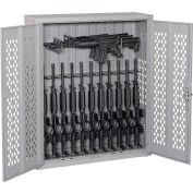 Datum Argos Gun Cabinet AWC45H12R-2 - Holds 12 Rifles & 3 Horizontal Rifles 42x15x45 Desert Sand