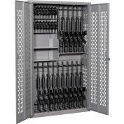 Datum Argos Gun Cabinet AWC72H18R20P-1 - 18 Rifles & 20 Pistols, 2 Half Shelves 42x15x72 Desert Sand