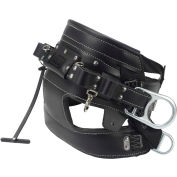 DBI-SALA® SEAT-BELT™ 4D Lineman Tongue Buckle Belt With Contoured Seat Pad, Size D25