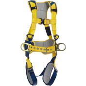 DBI-SALA® Delta™ Comfort Construction Style Position/Climbing Harness, Quick Connect, L