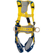 DBI-SALA® Delta™ Comfort Construction Climbing Harness, Tongue Buckle & Pass Thru, S
