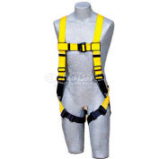 Delta™ Vest Style Harness 1104725, W/Back D-Ring, Belt Loops, Pass-Thru Legs, Universal