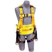 Delta™ Derrick Harness 1106350, W/Back & Lifting D-Rings, Tongue Buckle Legs, Medium